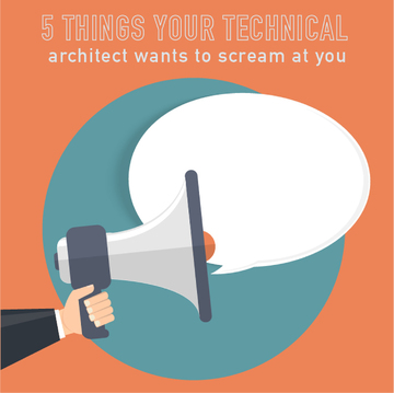 009-5 Things your technical architect secretly wants to yell at you