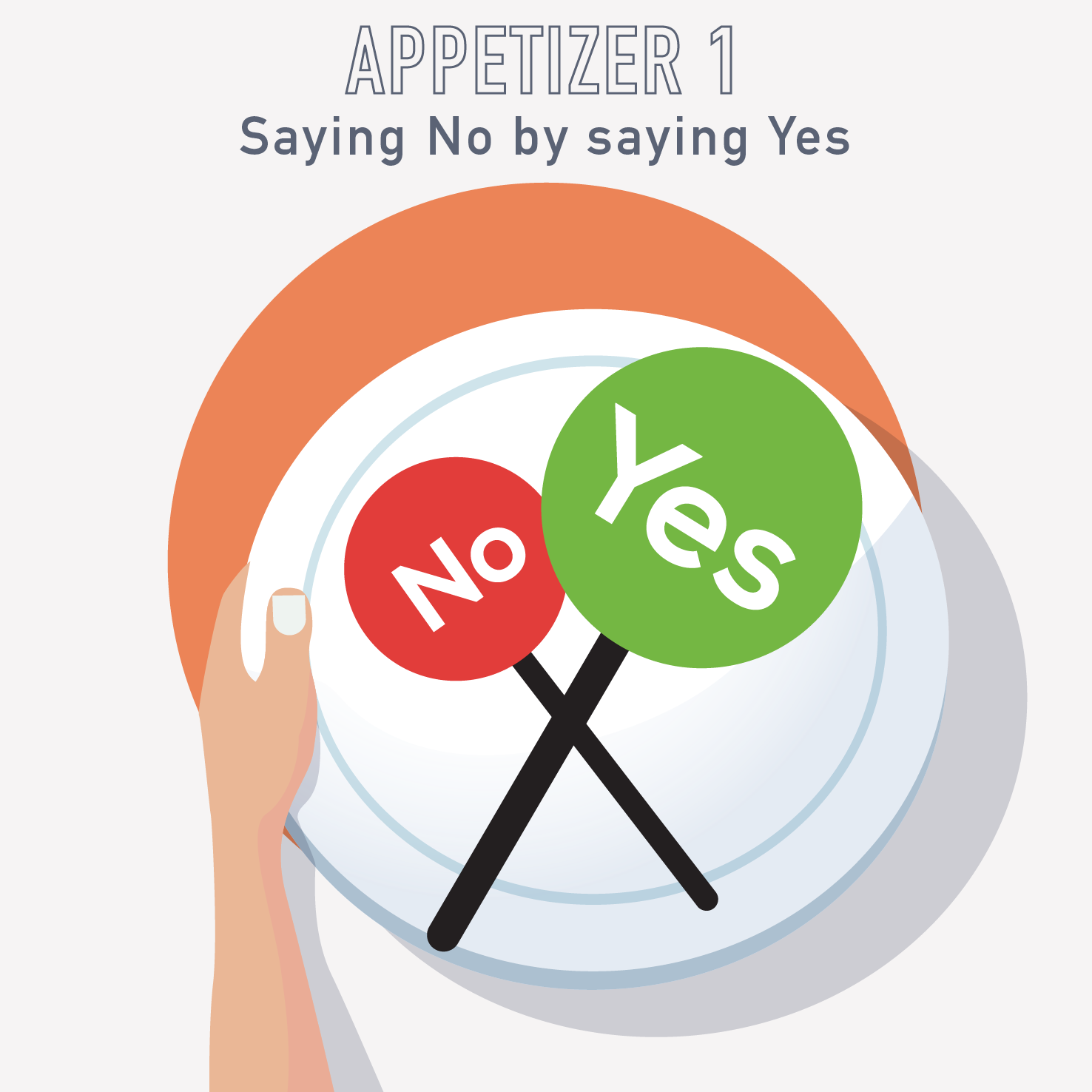 "A01-PM Appetizer: Saying ""no"" by ""yes"""