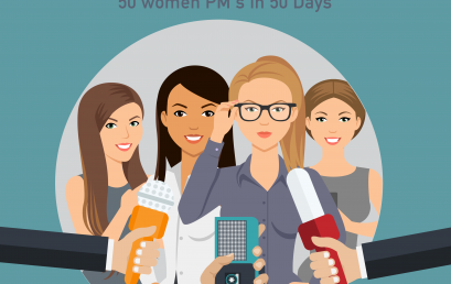 PM Happy Hour 033-Lessons from Interviewing 50 Women PMs in 50 days – a chat with Elise Stevens