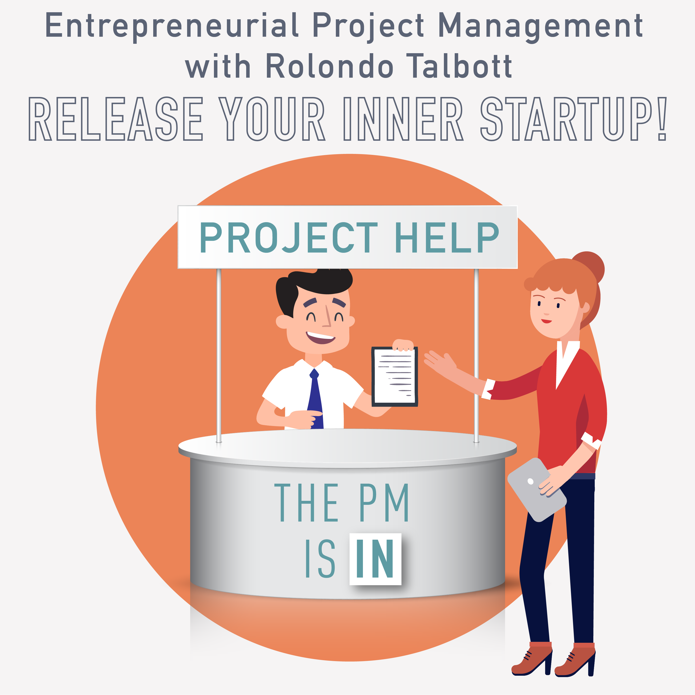 PM Happy Hour 045 – Entreprenedurial Project Management with Rolondo Talbott