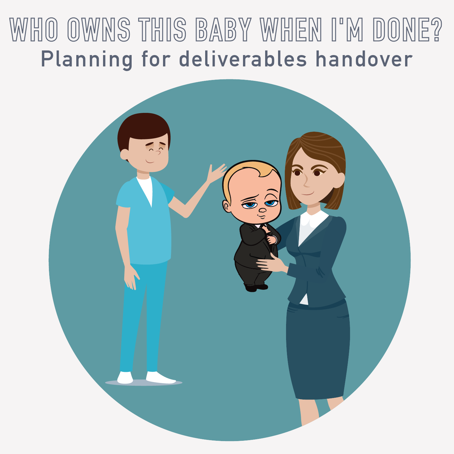 PM Happy Hour 052-Who owns this baby when I'm done? Planning for deliverables handover