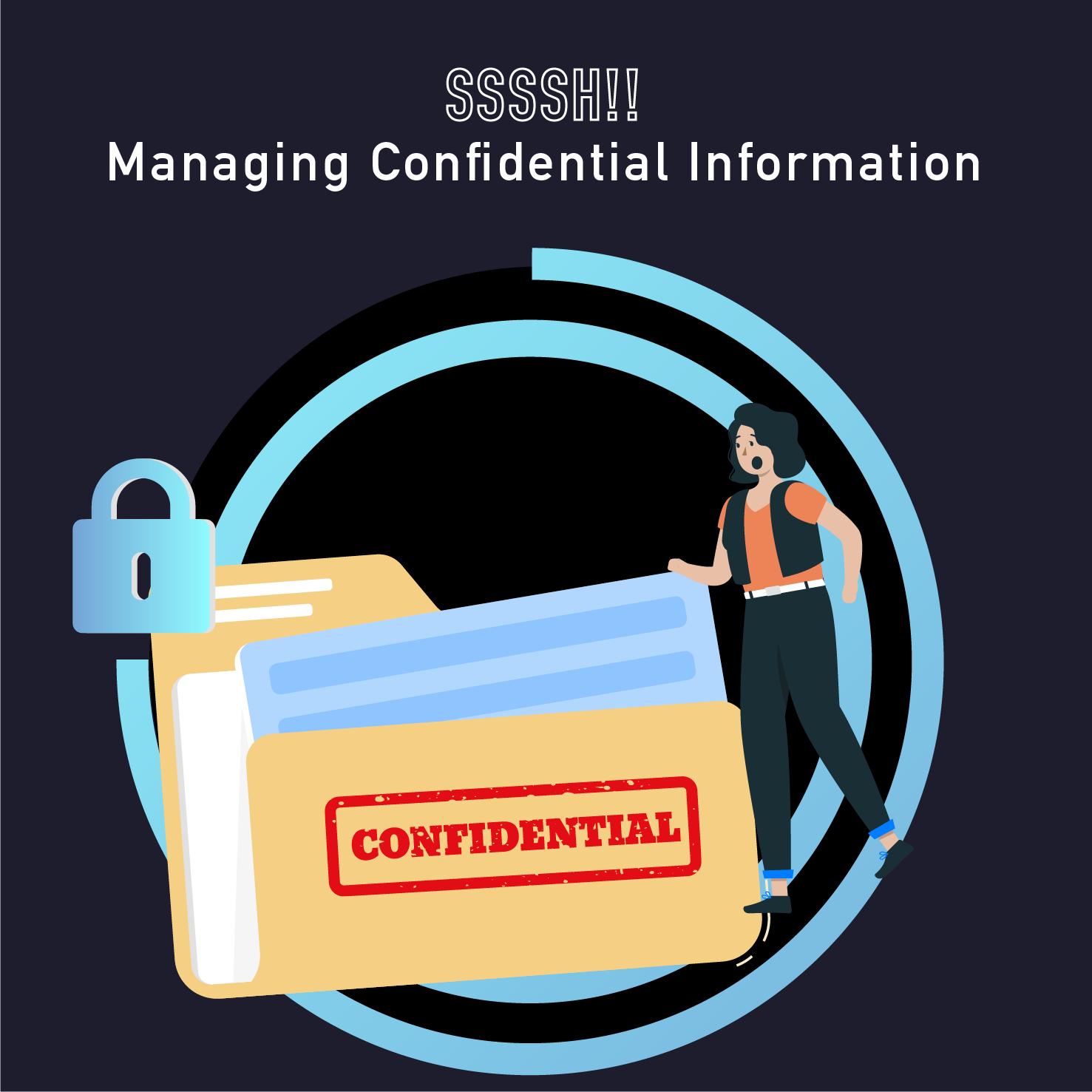 PM Happy Hour 065 – Can you keep a secret? Managing confidential information