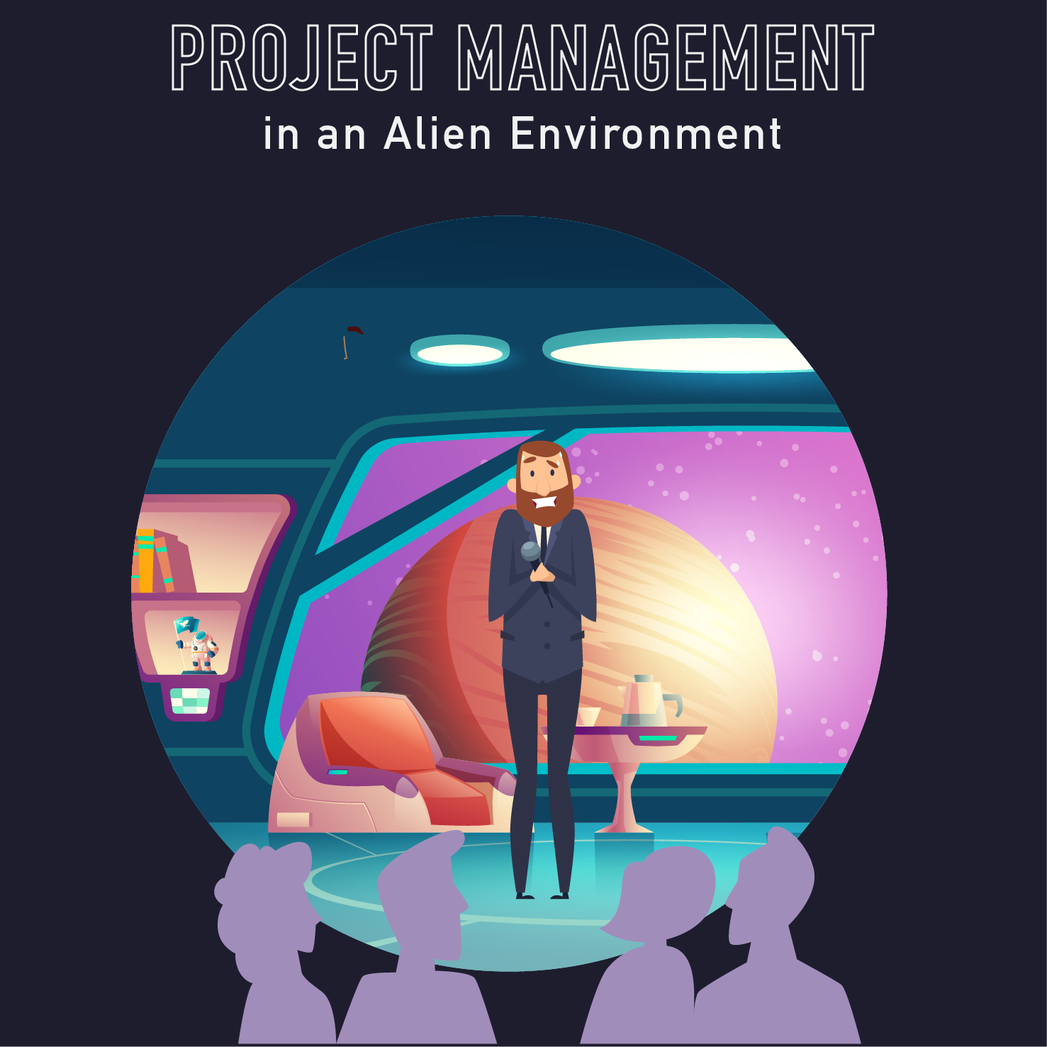 PM Happy Hour 069- Project Management in an Alien Environment